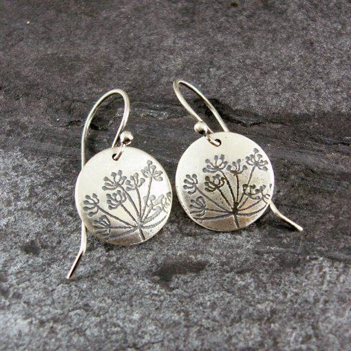 Hundkex Silver Drop Earrings