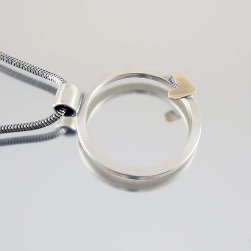 Heart of Gold Pendant Necklace