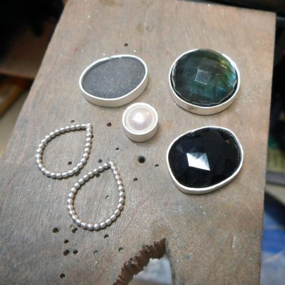 bezel making, new pieces in progress