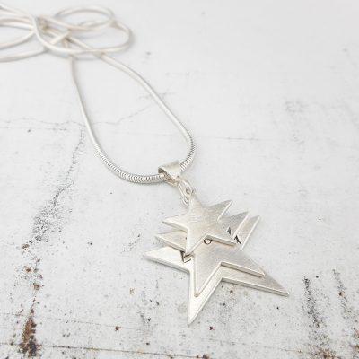 Triple Star Pendant