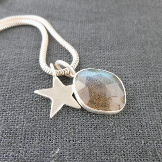 Labradorite Simplicity Pendant