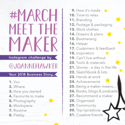 March Meet the Maker topics