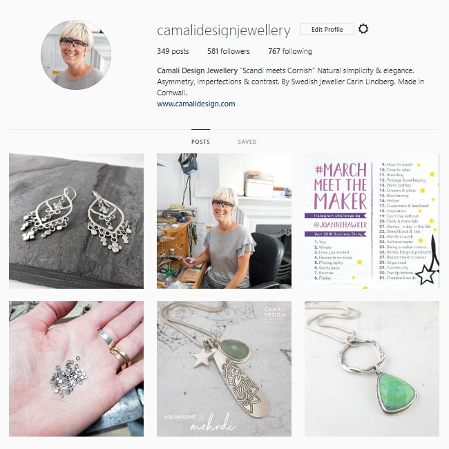 Camali Design Jewellery on Instagram