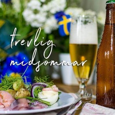 Trevlig midsommar - Happy midsummer!