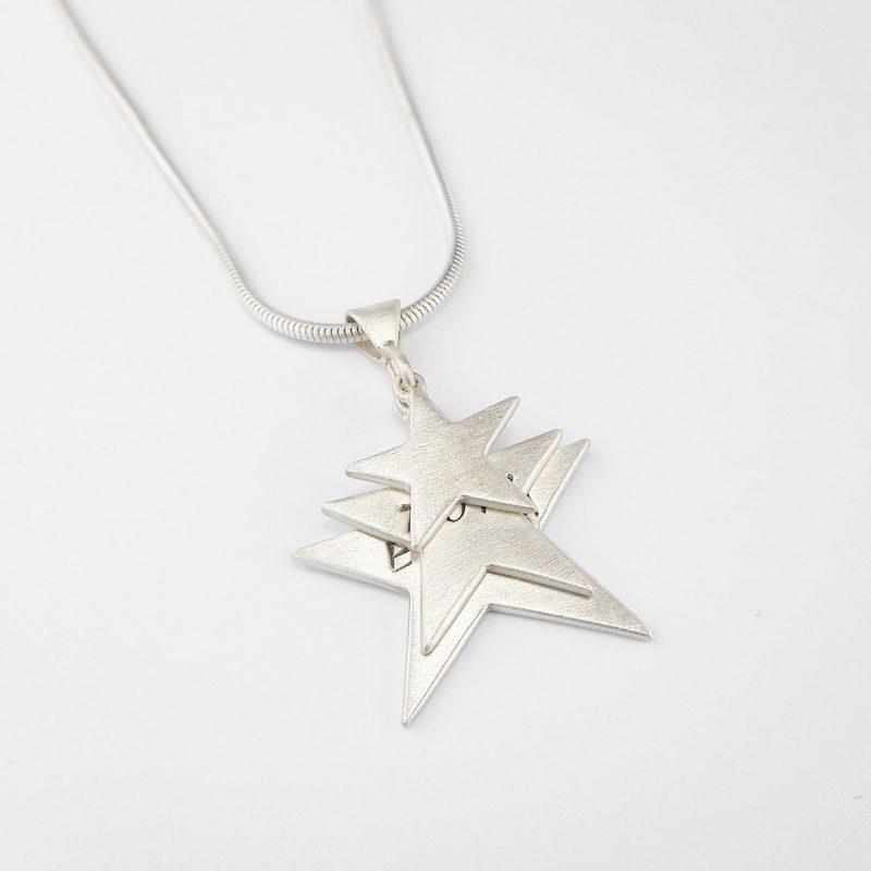 Triple Star Pendant commission