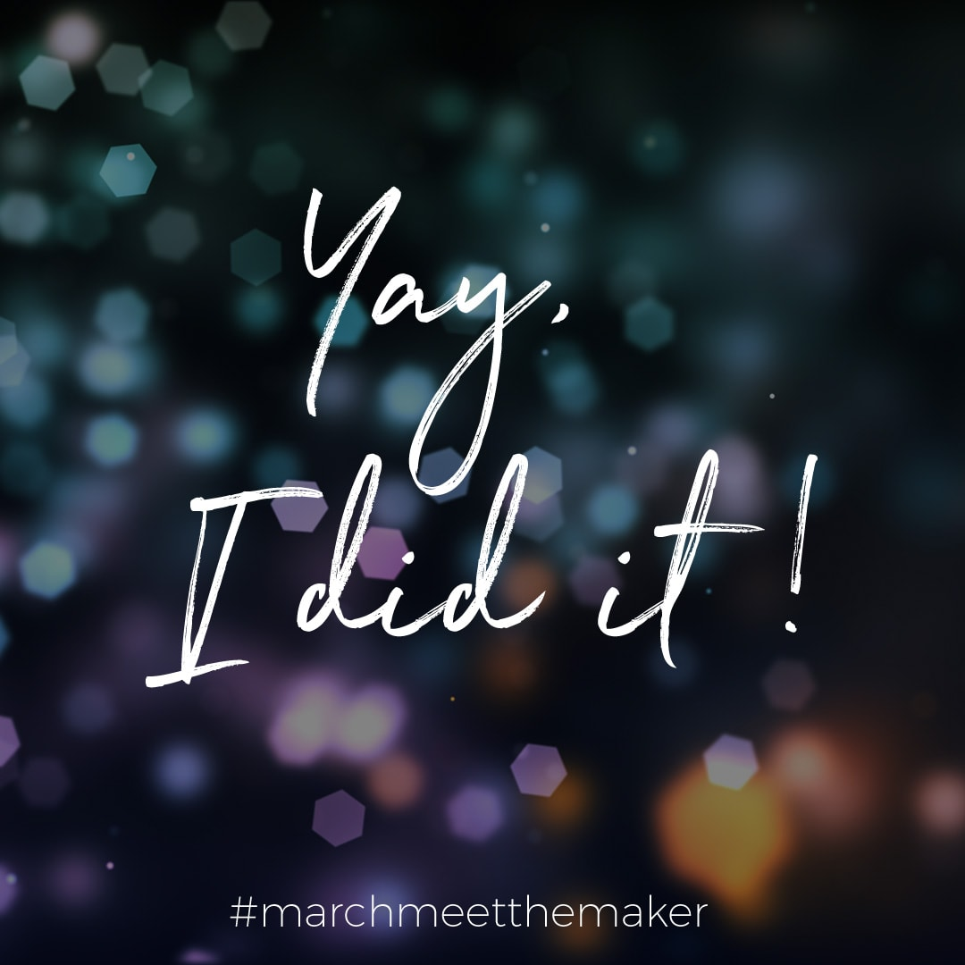 March Meet the Maker 2018 challenge finished!