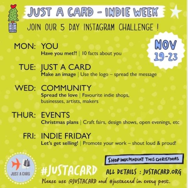 Just A Card Indie Week